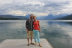 glacier, lake mcdonald, montana, jesse and brittany, califf, missions