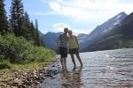 glacier, glacier montana, glacier national park, jesse and brittany