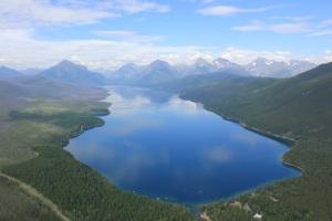 lake mcdonald glacier montana